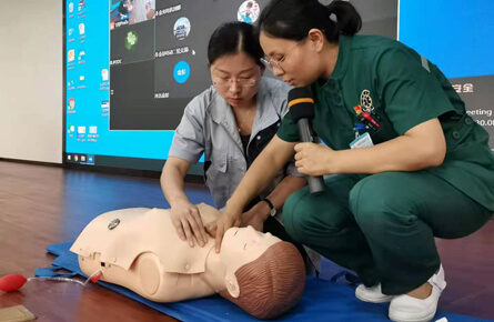 Jinpeng Group launches emergency rescue training